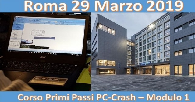 I primi passi pc-crash approdano a Roma - prima data 29 marzo 2019