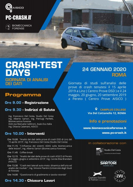 Giornata di analisi dei dati - Crash-Test 2019